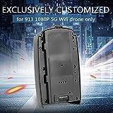 Leslaur 7.4V 1500mAh LiPo Batteria per 913 1080P 5G WiFi Drone Brushless GPS...