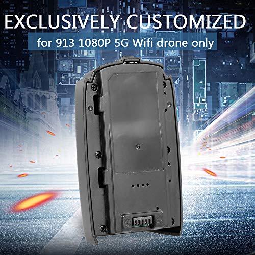 Leslaur Batería de 7.4V 1500mAh LiPo para 913 1080P 5G WiFi Drone GPS sin Cepillo Quadcopter