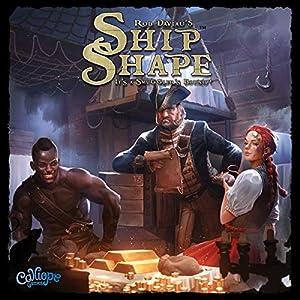 Calliope Games CLP136 ShipShape, Colores Variados