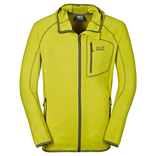 Jack Wolfskin – Giacca in pile Rock Sill Jkt M giallo