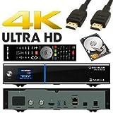 GigaBlue UHD UE 4K 2X DVB-S2 FBC 1x Single DVB-S2X Tuner Ultra HD E2 Linux Receiver inkl. 500 GB Festplatte