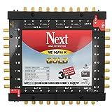 Multischalter - Next YE 10/16 s [PMSE 9/16 + Extra] mit Gold-Kontakten inkl. Netzteil Full HD, 4K tauglich