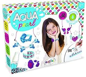 Aladine-Aqua Pearl Regalo je fais Mes Joyas 3D Perlas de Agua, 47032