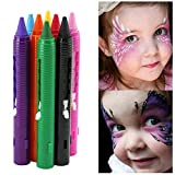 Vococal® 16 Crayons de Peinture Set-Visage Peinture pour Clown/drame/Mascarade Partie/Déguisements Carnavals Maquillage
