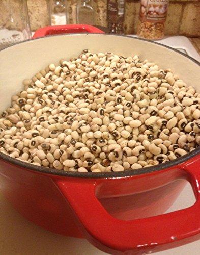 50-60 CALIFORNIA BLACK EYE Erbsensamen. Erbstück, Premium-USA Samen. Non-GMO.