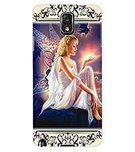 ColourCraft Angel Design Back Case Cover for SAMSUNG GALAXY NOTE 3