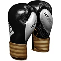 adidas Hybrid 75 Boxing Gloves - Red/Blue or Black/Gold