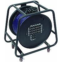 Omnitronic Multicore Escenario Caja 24/4cables de 30m carrete de cable 30m