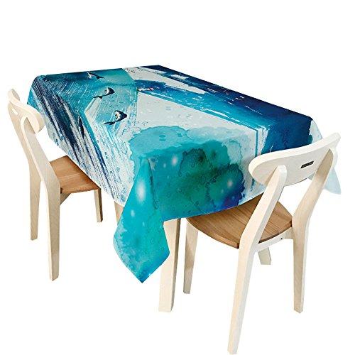 Für Ketchup Kinder Kostüm (Malloom® Tischdecke Wohnkultur Rechteck Streifen Polyester Tischdecke Stoff (150*210cm,)