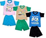 Indistar Girls Pure Cotton Baba Suit