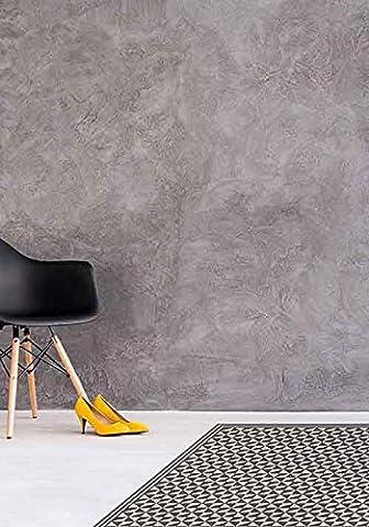 LOUISIANE Design Tapis vinyl carreaux de ciment (60_x_80_cm)