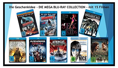 Die Geschenkidee -> Die Mega Blu-ray Collection mit 15 Filmen (Jackie Collection Blu-ray Chan)