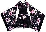 Japonais Style Kimono Peignoir Robe Anime Cosplay Costume YUKATA Série Japonais D'été Mignon Fille Anime Cosplay Costumes (L)