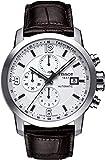 Tissot PRC 200 - Reloj (Reloj de Pulsera, Masculino, Acero Inoxidable, Acero Inoxidable, Cuero, Marrón)
