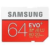 Samsung EVO+ 64GB Class 10 UHS-1 SDXC Me...