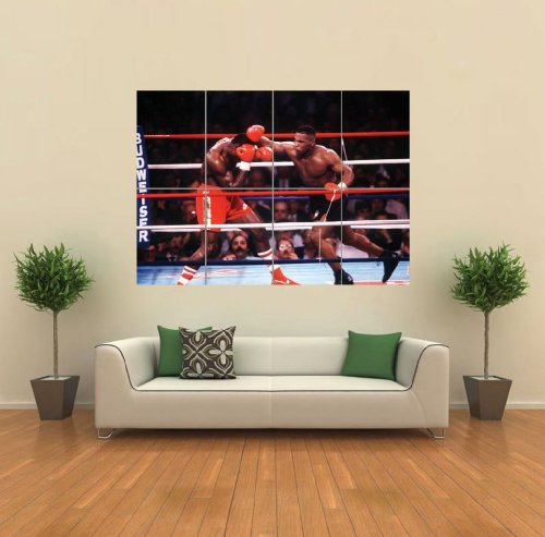 tyson-mike-boxing-bruno-art-print-afiche-cartel-imprimir-cartello-poster-picture-giant-huge-g949