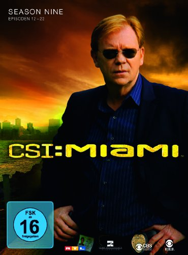 CSI: Miami - Season 9.2 [3 DVDs]