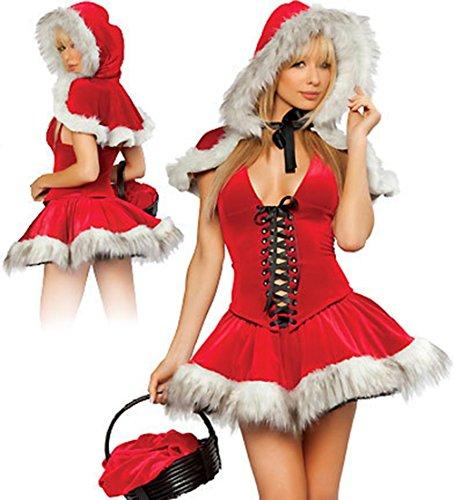 SEX PLAY Vestiti Di Natale Di Piacere Sexy Kit - Kit Idle