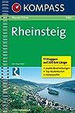 Rheinsteig: Wanderführer mit Top-Routenkarten (KOMPASS-Wanderführer, Band 1080)