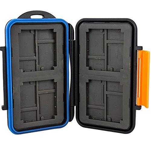 Speicherkarten Schutzbox für CF Compactflash - Micro SD und XD Karten - Wasserdicht