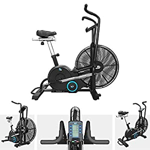 51HOLUaIbML. SS300 We R Sports AirUno Air Assault Exercise Bike Cardio Machine Fitness Cycle HeavyDuty MMA Bike