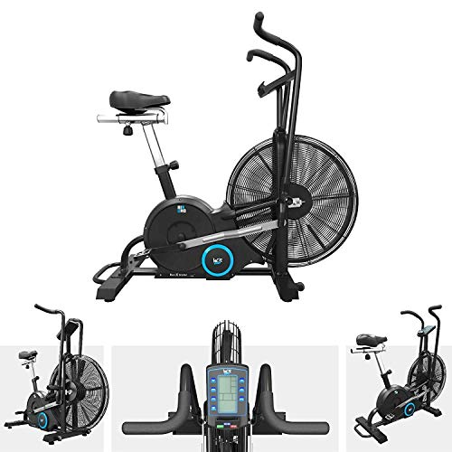 We R Sports AirUno Air Assault Exercise Bike Cardio Machine Fitness Cycle HeavyDuty MMA Bike