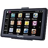 EasySMX 737 GPS Navigator 7 Zoll TFT LCD Touchscreen Vorgeladene Karten Musik / Movie Player Mehrsprachig Kompatibel mit Windows XP