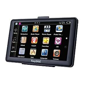 Sondernangebot EasySMX 84H-3 GPS Navigator mit Vorgeladene Karten 7 zoll TFT LCD Touch Screen Musik/Movie Player Multi-Sprache (Navigation GPS Devices)