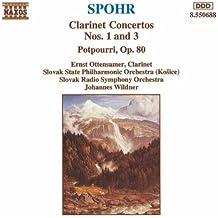 Concertos pour clarinette Nos 1 & 3
