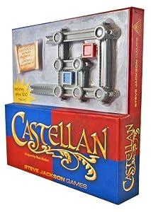 Castellan Blue/Red Version - Juego de tablero, 2 jugadores (Steve Jackson Games SJG1906) (versión en inglés)
