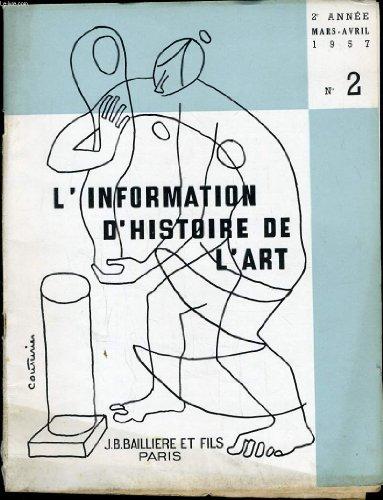 INFORMATION D'HISTOIRE DE L'ART n°2 : à ...