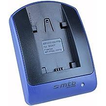 Cargador (Micro-USB, sin cables/adaptadores) para Sony NP-FV100 / DCR-PJ../SR../SX.. // DEV-3 5 30 50 50V // HDR-CX../PJ../XR.. // NEX-VG.. ver lista!