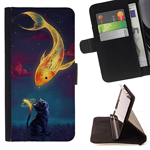ice-case-for-apple-ipod-touch-6-6th-generation-art-fantasy-goldfish-kitten-painting-art-smile-face-s