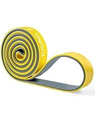 Widerstandsbänder, 4UMOR Übungsbänder Zwei-Ton Pull Up Fitness-Stretch-Bänder für Power-Training, Chain-up, Cross-Training, Gewichtheben, Gymnastik, Stretching, Home Fitness-Studios, Krafttraining und Yoga