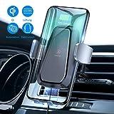 VANMASS Automatisch Wireless Charger Auto Handyhalterung Elektronisch Motor Betrieb 10W Fast Charging Extra Stabil Lüftung Qi Ladestation Auto für Phone XS/X / 8 Galaxy S9 / S8 und andere Qi Geräte