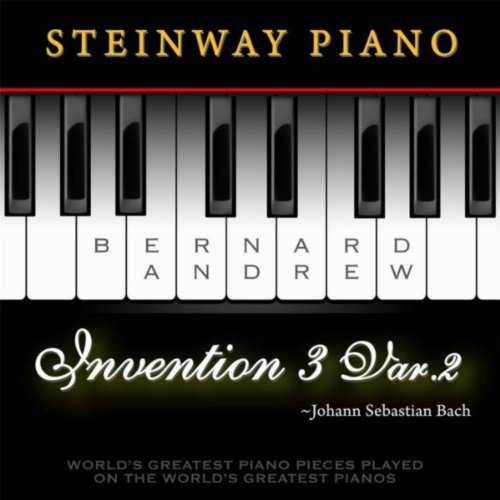 J. S. Bach: Invention No. 3 in D Major, BWV 774: Variation No. 2 (Steinway Piano Version)