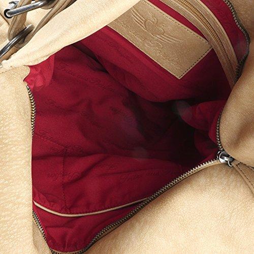 Fritzi aus Preußen Rabea Kuba Schultertasche 43 cm hemp1