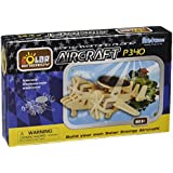 Cebekit - Puzzle 3D de avión solar bimotor: Aircraft P340, de madera (Fadisel C-9762)