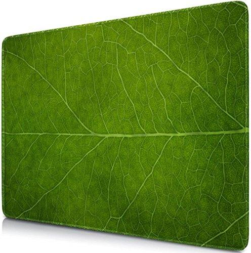 Sidorenko Gaming Mauspad | Mousepad 280 x 200 mm | Fransenfreie Ränder | spezielle Oberfläche verbessert Geschwindigkeit und Präzision | rutschfest | grün