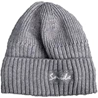Gorros Gorro De Sombreros Gorras Calentar Cálido Unisex Beanie Protección Auditiva Retro Otoño E Invierno Cálido Y Gorro De Terciopelo ZHANGGUOHUA (Color : Gray)