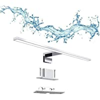 ERWEY Lampe Miroir Salle de Bain 5W 30cm 400lm, Applique Armoire LED Blanc Froid 6000K, IP44 Etanche Lumière pour Miroir…
