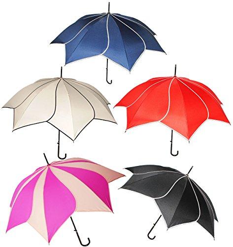 Metall Damen-fußball (edel ! _ großer Regenschirm - AUTOMATIK -
