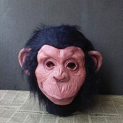 Super Gorilla Kind Kostüm - XIANGYANG Halloween Cosplay Gorilla Maske, Monkey