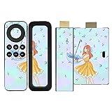 Disagu SF-sdi-5258_920 Design Folie für Amazon Fire TV Stick und Fernbedienung Motiv Notenregen klar
