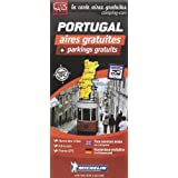 Carte des aires gratuites Portugal