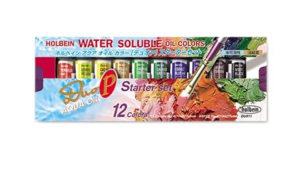 Oil 10mljapan Aqua P Set Color ImportAmazon Duo Holbein Starter v7gf6Yby
