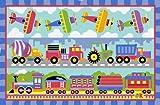 LA Rug Olive Kids Trains, Planes & Truck...