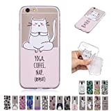 V-Ted Coque Apple iPhone 6S Plus 6 Plus Licorne Yoga Silicone Ultra Fine Mince Bumper...