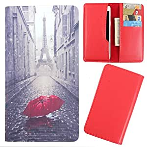 DooDa - For Gionee Elife S7 PU Leather Designer Fashionable Fancy Case Cover Pouch With Card & Cash Slots & Smooth Inner Velvet