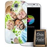 dessana Eigenes Foto Transparente Schutzhülle Handy Tasche Case für Samsung Galaxy S4